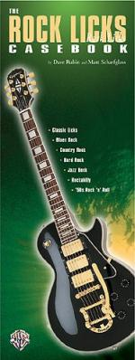 The Rock Licks Casebook Sheet Music