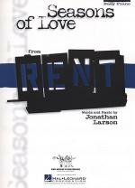 Seasons Of Love Rent Sheet Music