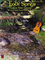 Folk Songs For Solo Guitar Tab Sheet Music