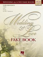 Wedding & Love Fake Book - C Edition Sheet Music