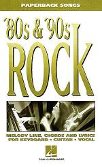 '80s & '90s Rock Sheet Music