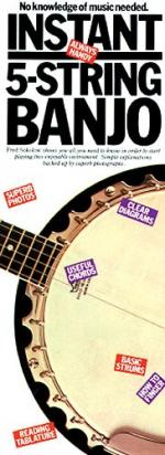 Instant 5-String Banjo Sheet Music