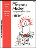 Christmas Medley, Primer Level Sheet Music