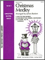 Christmas Medley, Piano Solo, Level 1 Sheet Music