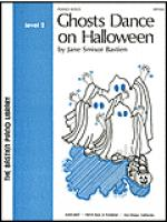 Ghosts Dance on Halloween Sheet Music