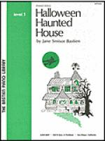 Halloween Haunted House Sheet Music
