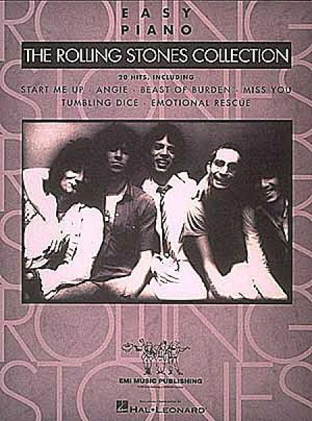 The Rolling Stones Collection - Easy Piano Sheet Music