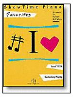 ShowTime® Favorites Sheet Music