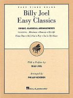 Billy Joel Easy Classics Sheet Music