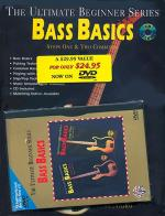 Ultimate Beginner: Bass Basics Steps One And Two Combined (Book/DVD) Sheet Music