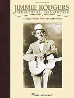Jimmie Rodgers Memorial Songbook Sheet Music