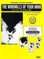 Windmills Of Your Mind (PVG) Sheet Music