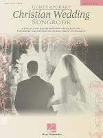 Contemporary Christian Wedding Songbook Sheet Music
