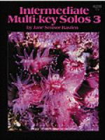 Intermediate Multi-Key Solos, Level 3 Sheet Music