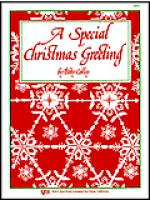 A Special Christmas Greeting Sheet Music