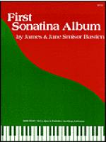 First Sonatina Album Sheet Music