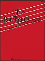 Three Baroque Pieces Sheet Music
