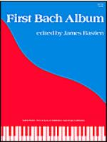First Bach Album Sheet Music