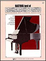 Bastien's Best Of Bacharach-david Sheet Music
