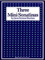 Three Mini Sonatinas Sheet Music