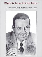 Music & Lyrics by Cole Porter - Volume Two Sheet Music
