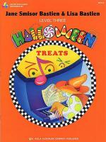 Bastien Halloween Treats Level 3 Sheet Music