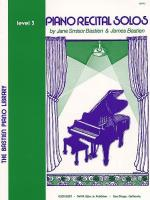 Bastien Piano Library: Piano Recital Solos - Level 3 Sheet Music