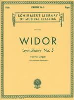 Symphony No.5 For Organ Sheet Music