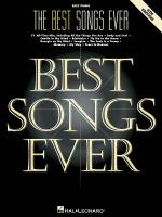 The Best Songs Ever - 6th Edition (Easy Piano) Sheet Music
