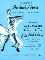 One Touch of Venus Sheet Music