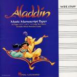 Aladdin Manuscript Paper Sheet Music