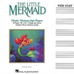 The Little Mermaid Music Manuscript Paper Sheet Music