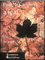 A Leaf Sheet Music
