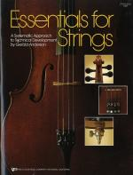 Essentials For Strings String Bass Sheet Music
