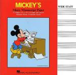 Mickey's Manuscript Paper Sheet Music