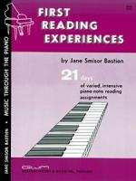 Jane Smisor Bastien: First Reading Experiences Piano Sheet Music