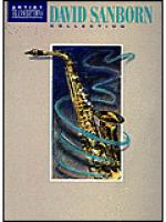 David Sanborn Collection Sheet Music