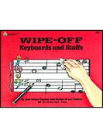 Wipe-Off: Keyboards And Staffs Sheet Music