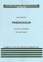 Passacaglia For Violin And Cello (Score/Parts) Sheet Music