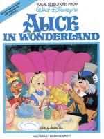 Alice In Wonderland - Vocal Selections Sheet Music