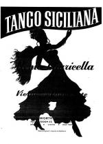 Tango Siciliano (Violin/Piano) Sheet Music