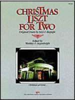 Christmas Liszt For Two Sheet Music