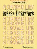 A Chorus Line - Vocal Selections Sheet Music