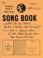 Dad's Army Songbook Sheet Music