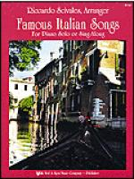 Famous Italian Songs Sheet Music
