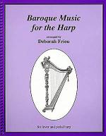Baroque Music for the Harp Sheet Music