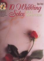 10 Wedding Solos - High Voice - Book/CD Sheet Music
