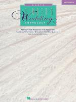 The Singer's Wedding Anthology: Duets Sheet Music