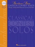 Classical Contest Solos - Baritone/Bass Sheet Music