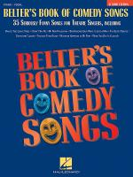 Belter's Book Of Comedy Songs Sheet Music